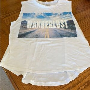 Wanderlust tank top, size Small by Freeze